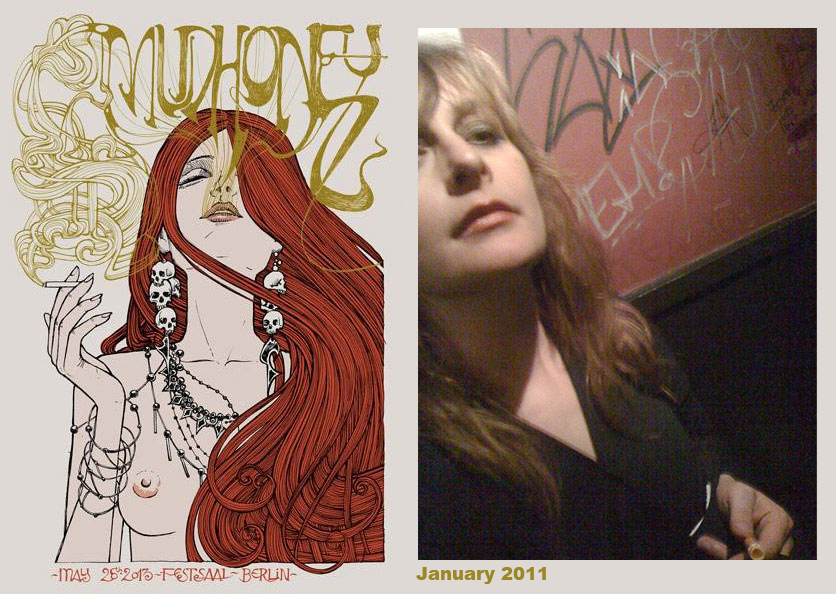 mudhoney poster from 2013 appears to be based on a photo of me from 2011